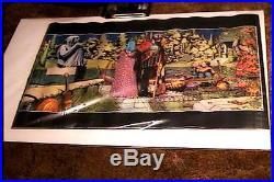 1 Barry Windsor Smith Enchantment Poster 23x35 Oop Big O Publishing Ltd 1979