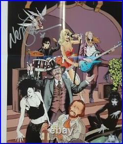 1 Sandman 20th Anniversary Poster 2008 27x39in Neil Gaiman Jill Thompson signed