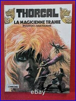 162. Thorgal 1 La Magicienne Trahie Eo 1980 Van Hamme + Rosinski