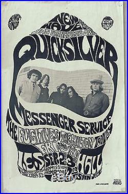 1966 Quicksilver Messenger Service, Concert Poster, San Jose