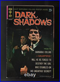 1968 1st Issue Dark Shadows Photo Cover withPoster intact Original & Complete