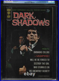 1969 RARE 1st ISSUE DARK SHADOWS COMIC BOOK CGC 7 GRADED WithPOSTER ATTACHED