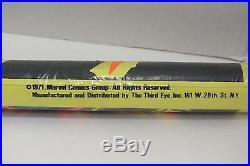 1971 Dr Strange and Eternity 4007 Marvel Comics Third Eye Black Light Poster NIP
