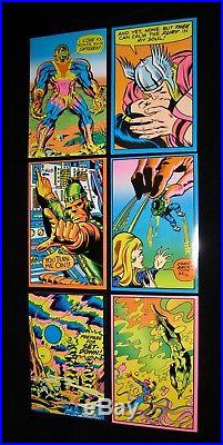 1971 MARVEL THIRD EYE Greeting Cards Complete set of 24 with envelopes NM/M