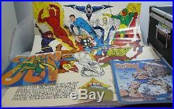 1973 Jim Steranko Art Foom Poster Friends Of Old Marvel-stan Lee