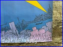 1973 Studio One Batman Comic Book Promo Poster 36 x 24 Carmine Infantino Art