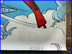 1973 Studio One Wonder Woman Comic Book Promo Poster 36 x 24