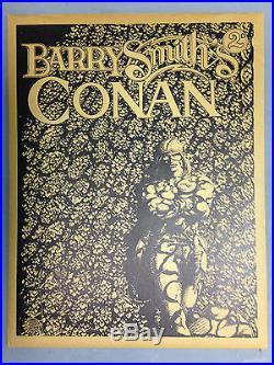 1974 Barry Windsor Smith Gorblimey Press Conan Tuppeny Signed Print Portfolio