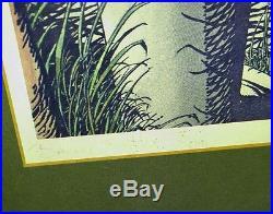 1974 BARRY WINDSOR SMITH RAM & PEACOCK 27x27 Print GORBLIMEY Signed #75/500 BWS