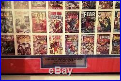 1984 FIRST EDITION MARVEL Comics UNCUT SHEET #/1984 COA Hulk Fantastic Four
