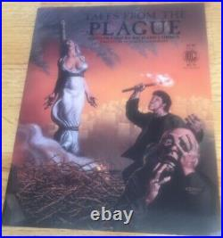 1986 Tales From The Plague Signed And Numbered Poster And Book Richard Corben