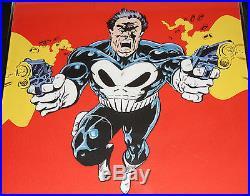 1990 Marvel PUNISHER POSTER MIKE ZECK Framed Daredevil Netflix