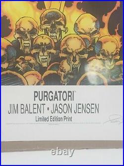 1997 Purgatori, Jim Balent, Jason Jensen, Limited Edition 87/1000 36.5X 25.5