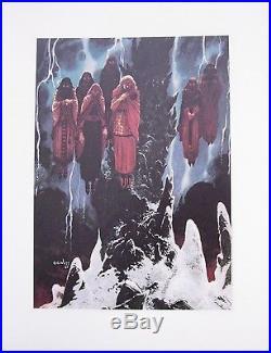 4 Stardust Prints/Charles Vess/Neil Gaiman/Sandman/1997 DC/Vertigo Comics