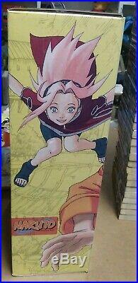 57 book Lot 1-50 + extras Naruto Shonen Jump Manga box set vol 1-27 poster viz