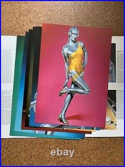 6 PRINTS Taco 1988 Hajime SORAYAMA Sexy Robots Posterbook Be@rbrick KAWS