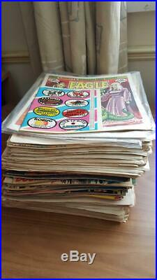 90 Eagle Comics Lot Various Issues 1982/84/86/90 Some Sealed with Posters/Gifts
