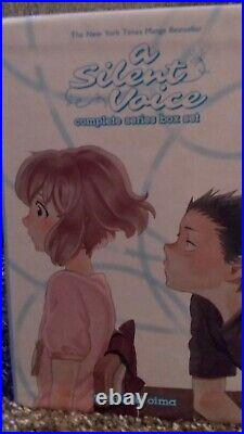 A Silent Voice Manga Complete Series Box Set in English with Poster and Notebook