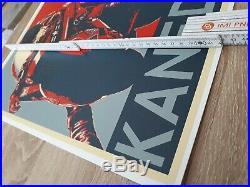 AKIRA Katsuhiro Otomo Propaganda Poster (Tetsuo + Kaneda) Comic Con Supreme
