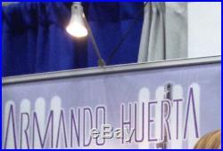 ARMANDO HUERTA COBRA BARONESS 38x80 BANNER USED IN LA COMIC CON'17 SIGNED