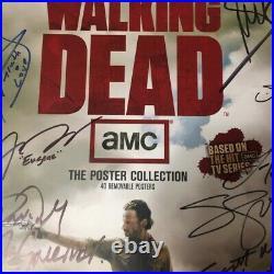 AUTOGRAPHED The Walking Dead Cast Poster Book 1st Season 16 signatures Comic-con