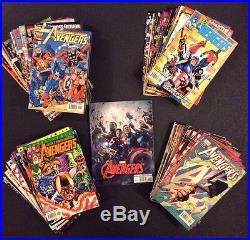 AVENGERS #1 -503 Comic Books +Avengers Magazine +Promo Poster COMPLETE SERIES VF