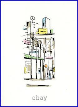 AVRIL SERIGRAPHIE PARIS DECEMBRE 120 ex. N°/signés + SERIGRAPHIE TOKYO OFFERTE