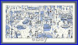 AVRIL SERIGRAPHIE PARIS PLACE PIGALLE 120 ex. N°/signés + collectors en cadeau