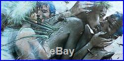 Affiche BILAL Enki Tu m'aimes 150ex numérotée signée 50x100 cm
