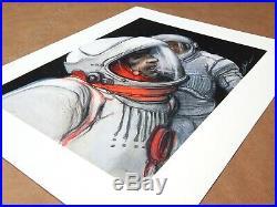 Affiche Bilal Enki Bug K. Obb Estampe pigmentaire 99ex signée 40x50 cm