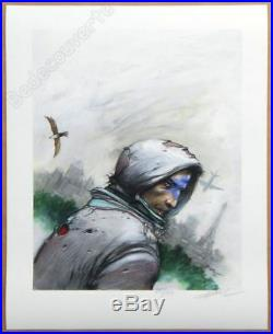 Affiche Bilal Enki Bug La Tour Eiffel Estampe pigmentaire 150ex signée 40x50 cm