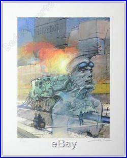 Affiche Bilal Enki Estampe Le Creusot 301ex signée 40x50 cm
