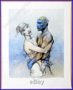 Affiche Bilal Enki I. A. Tome 02 Estampe pigmentaire 150ex signée 40x50 cm
