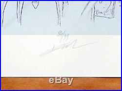 Affiche Bilal Enki L'inédit Estampe pigmentaire 99ex signée 40x50 cm