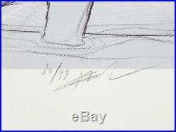 Affiche Bilal Enki Le couple Estampe pigmentaire 99ex signée 40x50 cm
