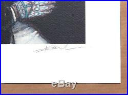 Affiche Enki BILAL Sarajevo 1993 signée 301ex numérotée 40x50 cm