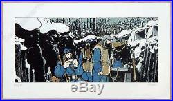 Affiche Jacques Tardi Putain de Guerre Estampe Pigmentaire signée 118ex 40x70 cm