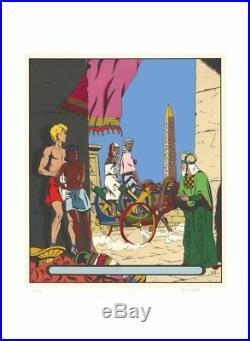 Affiche Sérigraphie Alix Le sphinx d'or Archives Internationales