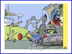 Affiche Sérigraphie Atomium Ever Meulen Automium Champaka
