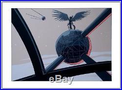 Affiche Serigraphie BD YSLAIRE Atomium Ange 199ex-s 60x80