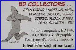 Affiche sérigraphie 150 ex S&N format 40x50cm DUPUY et BERBERIAN Atmosphère 1992