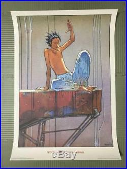 Akira Tetsuo Poster Art Manga Sf Anime Japan Comic Moebius Rare Collectible F/s