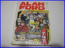 Alan Ford Numero 50 Poster Manifesto + Adesivi Incellophanato Blisterato Corno