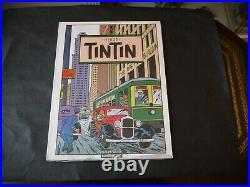 Album Poster Affiche Herge Tintin 1986