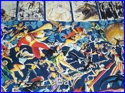 Alex Ross/Perez Crisis poster 1 JLA/Superman/Batman/Wonder Woman/Captain Marvel