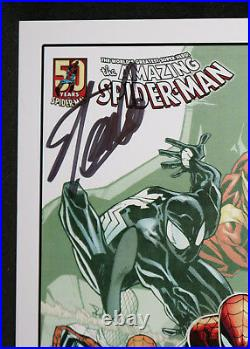 Amazing Spider-Man Happy Birthday Print by Humberto Ramos Signed by Stan Lee