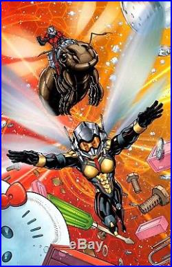 Ant-Man and Wasp Original Poster Art by Karl Altstaetter