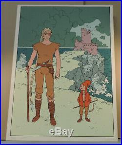 Arno Jodorowky Alef Thau serigraphie 150 ex Signe