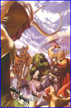 Avengers #1 Variant Cover Alex Ross (Stretched)