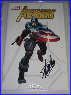 Avengers Promotional Poster CGC 9.8 NG SS Stan Lee John Romita Art